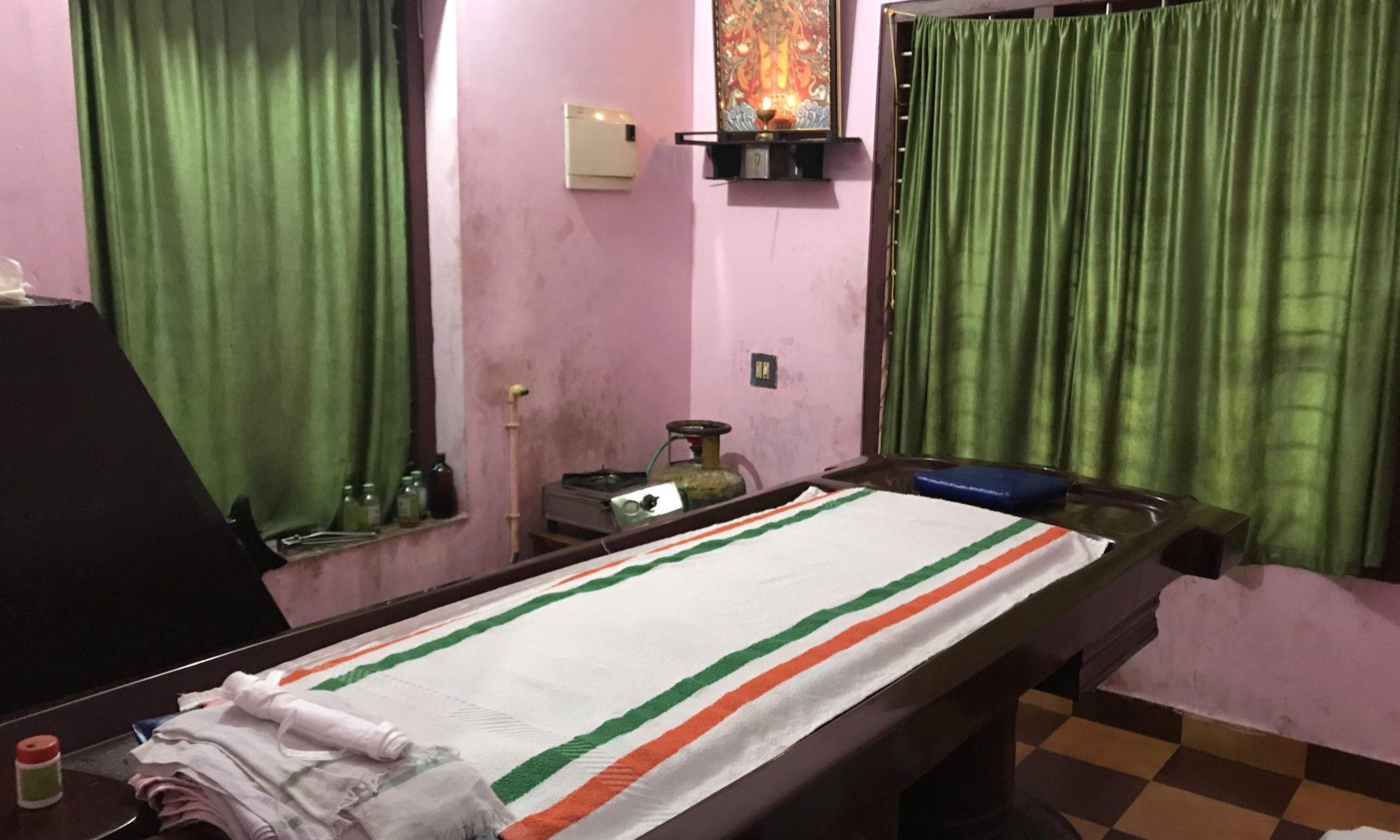 Salle de massage Ayurveda