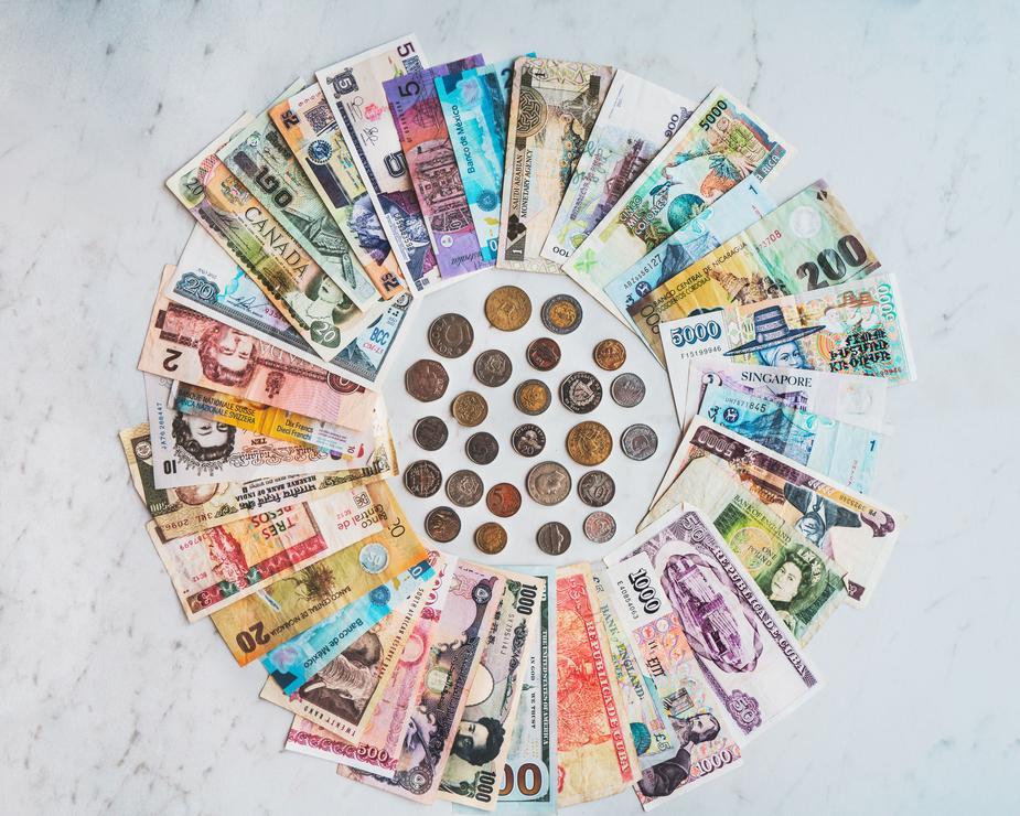 Monnaies de différents pays