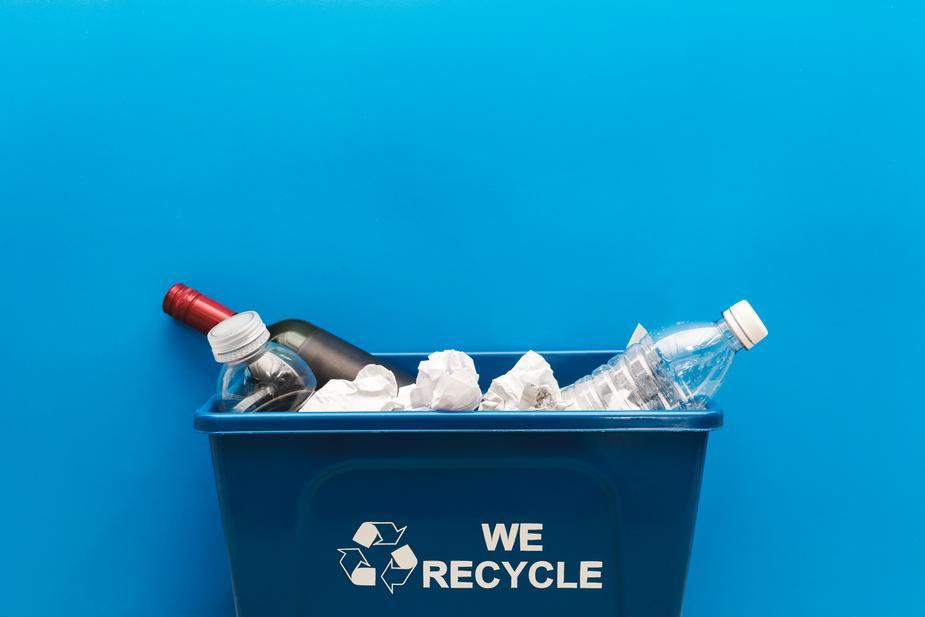 Poubelle tri des déchets