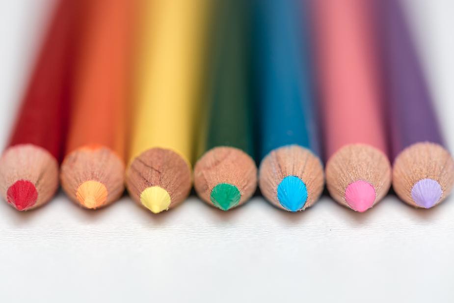 Crayons pour le coloriage