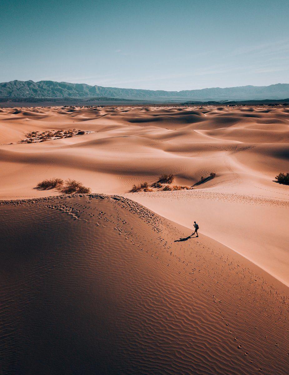 La solitude dans le désert