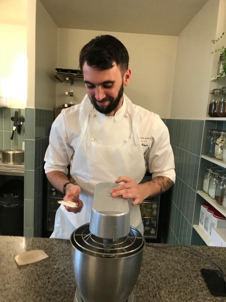 Yann Menguy, Chef pâtissier, La Goutte d'Or