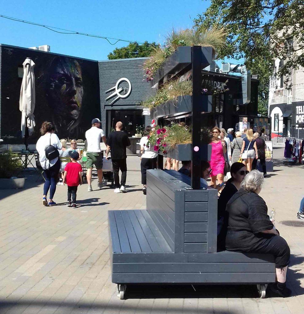 Rue de Talinn -Estonie