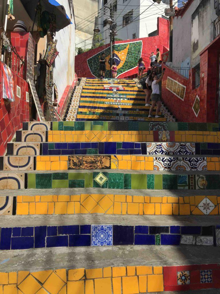 Les escaliers Selaron - Rio
