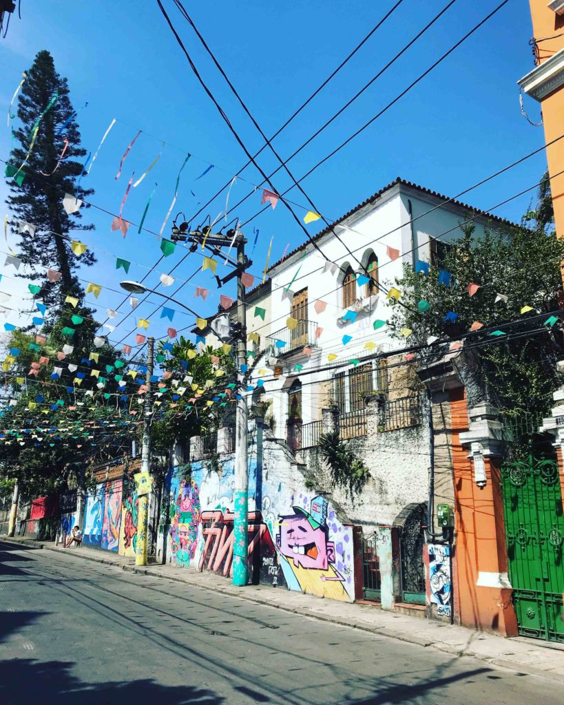 Quartier de Santa Teresa - Rio