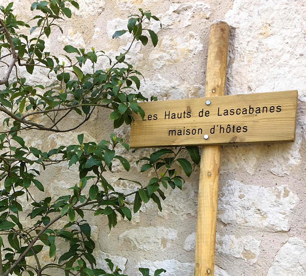 Panneau Hauts Lascabanes