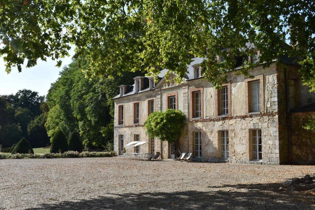 Aile gauche du Château du Saussay