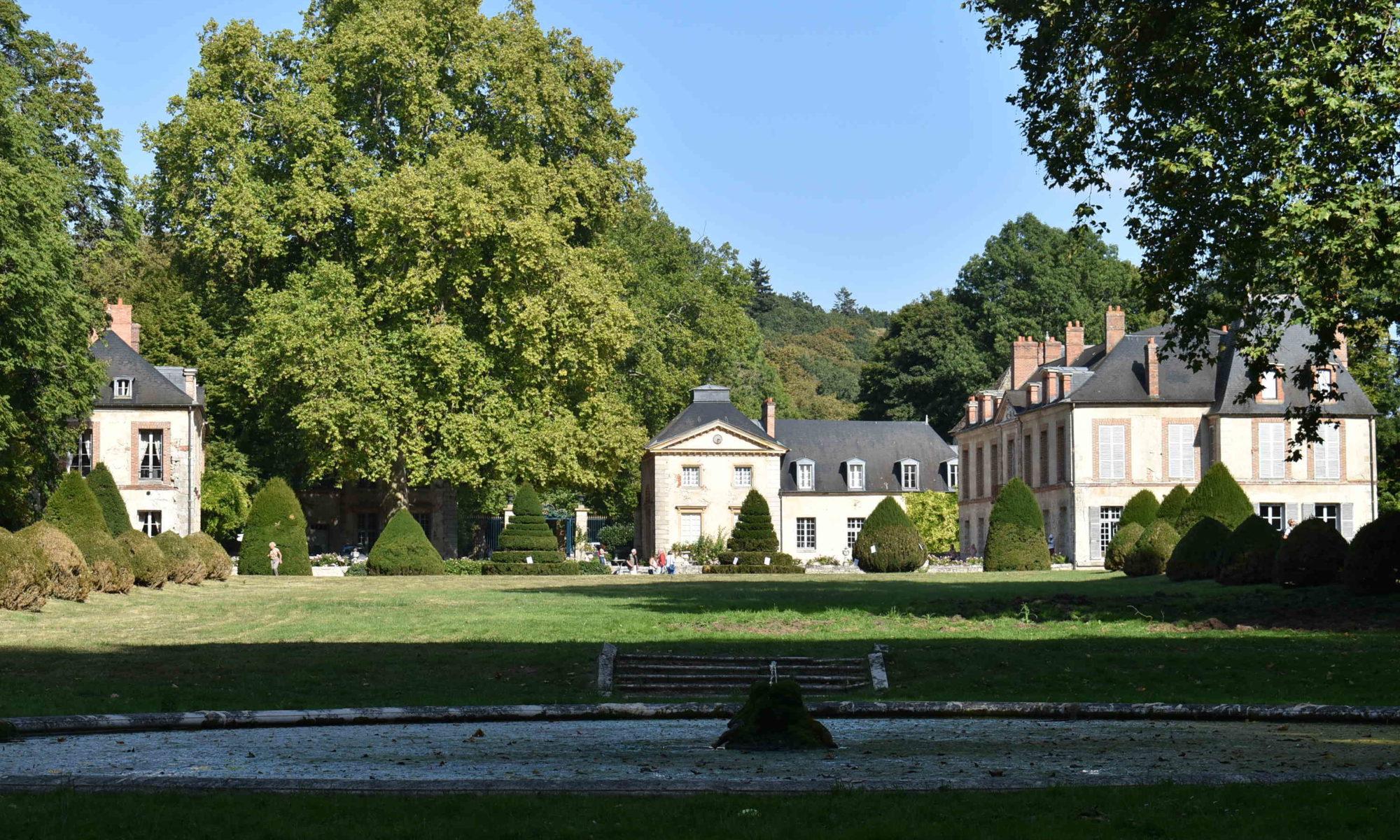 Vue arrière du Château du Saussay