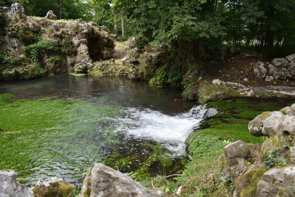 Cascade au parc de Méréville