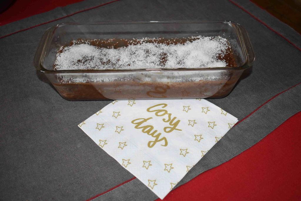 Gâteau choco-noix de coco